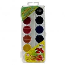 آبرنگ راما 24 رنگ طلقی