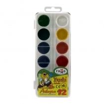 آبرنگ راما 12 رنگ طلقی