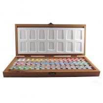 ابرنگ 48 رنگ افرا جعبه چوب