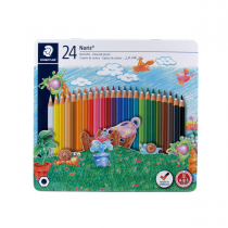 مدادرنگی24 رنگ استدلر جعبه فلز