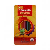 مدادرنگی12 رنگ پیکاسو جعبه فلز