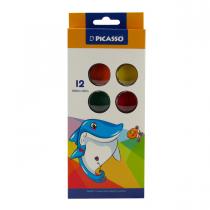 آبرنگ 12 رنگ پیکاسو