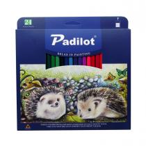 مداد رنگی 24 رنگ پادیلوت جعبه مقوا