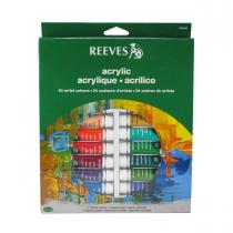 رنگ اکرلیک 24 رنگ ریوز