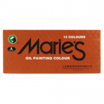 رنگ روغن 12 رنگ ماریس