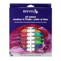 رنگ روغن 24 رنگ ریوز