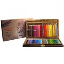 مدادرنگی 100 رنگ کنکو جعبه چوب