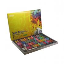 پاستل گچی 64 رنگ نیمه گالری