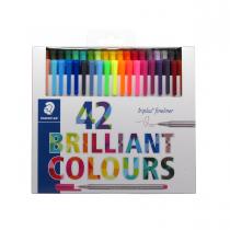 روان نویس triplus استدلر 42 رنگ جعبه مقوا