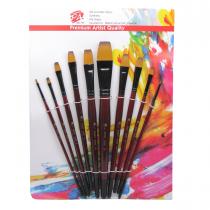 ست قلم موی سرتخت پارس آرت سری 55547