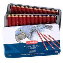 مداد پاستل گچی 72 رنگ درونت جعبه فلز